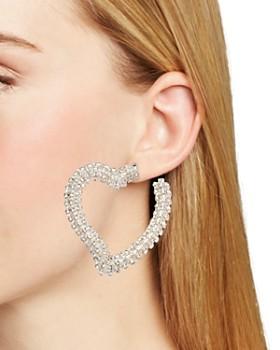 Sachin and Babi - Heart Drop Earrings