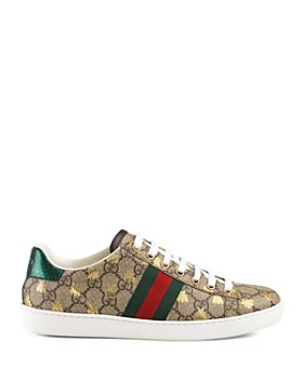 Gucci - Women's Ace GG Supreme Sneaker with Bees