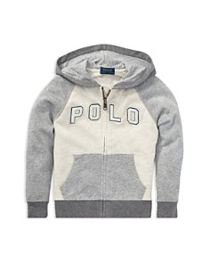 Ralph Lauren - Boys' Cotton French Terry Zip-Up Hoodie - Little Kid