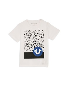 True Religion - Boys' Splatter Graphic Tee - Little Kid, Big Kid