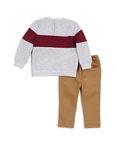 7 For All Mankind - Boys' Fleece Sweatshirt & Twill Jogger Pants Set - Baby