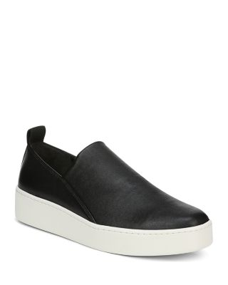 Saxon Leather Platform Sneakers