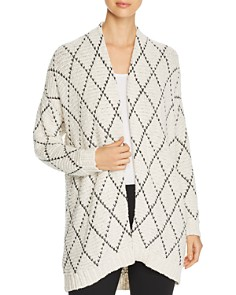 Eileen Fisher Petites - Organic Cotton Open Cardigan