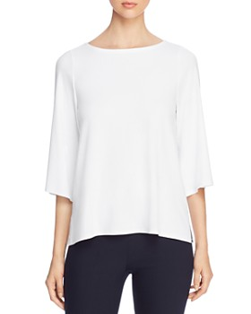 Eileen Fisher - Boat-Neck Top