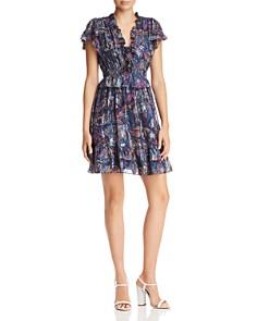 Rebecca Taylor - Giverney Fleur Print Dress