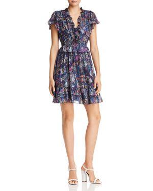 Rebecca Taylor Giverney Fleur Print Dress