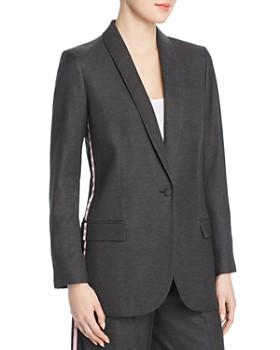 Tory Burch - Tuxedo-Stripe Blazer