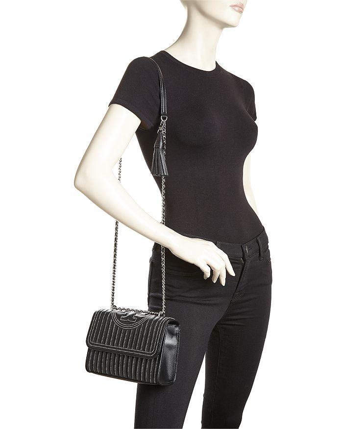5bafdbba4db2 Tory Burch - Fleming Small Stud Convertible Shoulder Bag