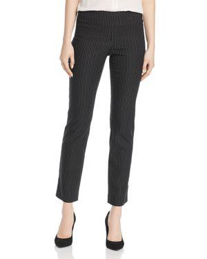 Nic+Zoe Broken-Stripe Pants