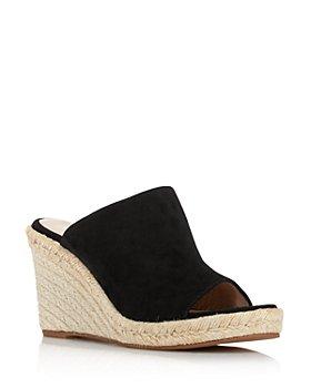 Stuart Weitzman - Women's Marabella Suede Espadrille Wedge Sandals