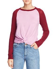 Heartloom - Charlie Color-Block Baseball Sweater