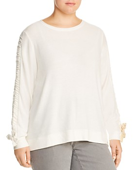 Marc New York Plus - Cinched-Sleeve Top