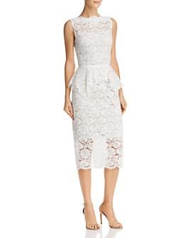 Nha Khanh - Lace Peplum Dress