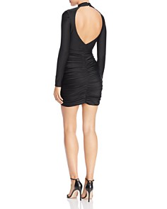 Tiger Mist - Roxy Ruched Cutout Body-Con Dress