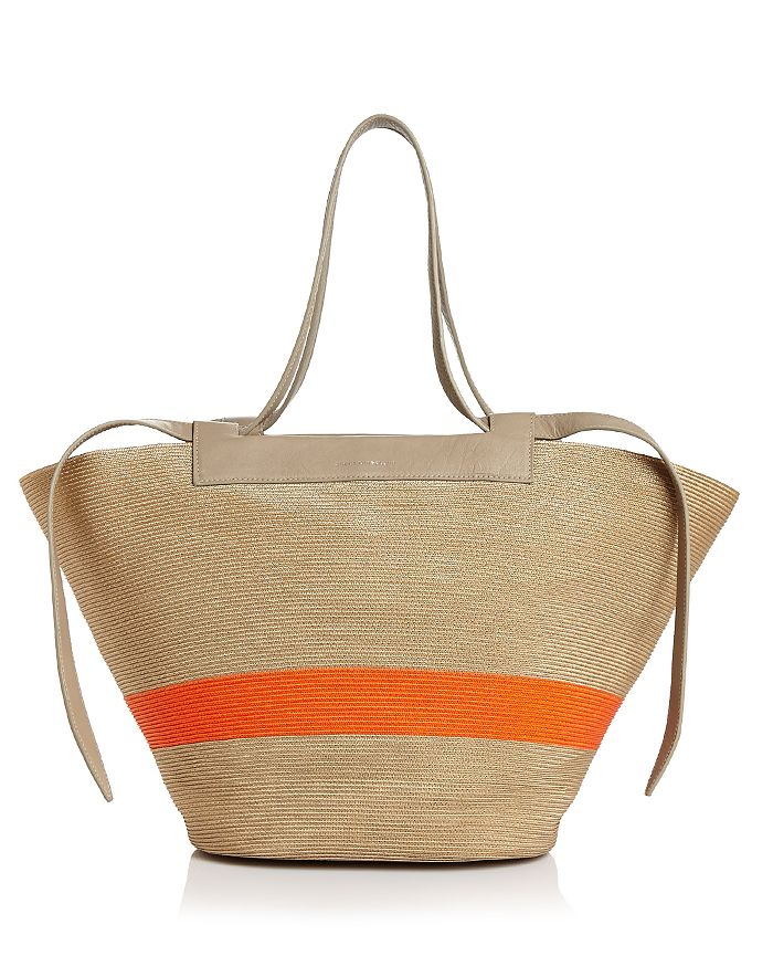 ELENA GHISELLINI - Inseperable Capri Medium Striped Tote Bag