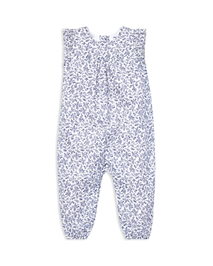 Ralph Lauren Girls Floral Cotton Romper  Baby