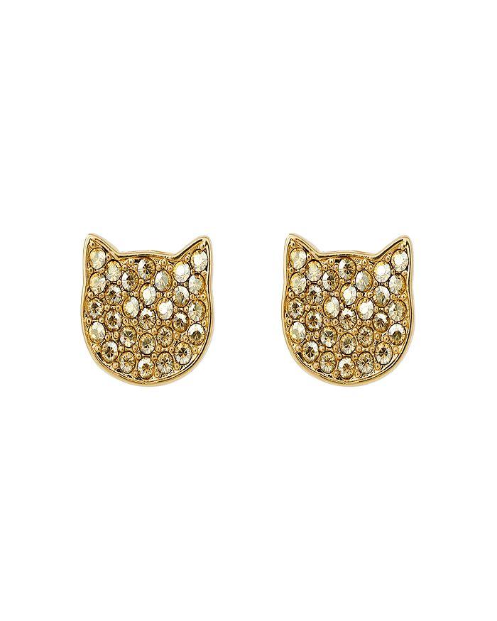 KARL LAGERFELD Paris - Silhouette Choupette Earrings
