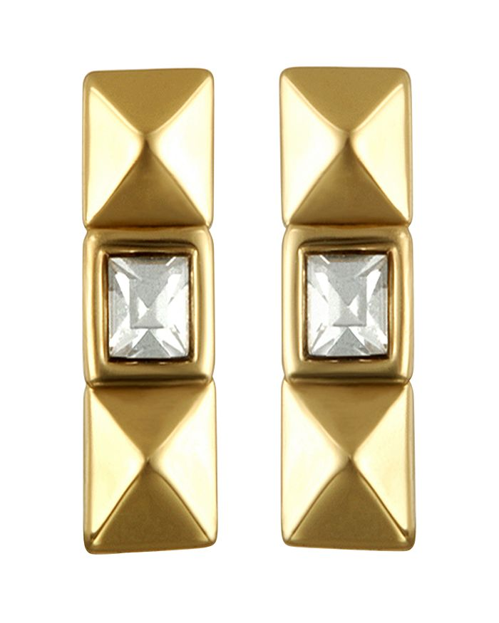 KARL LAGERFELD Paris - Pyramid Stud Earrings