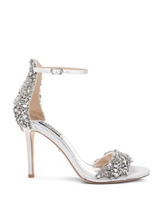 Badgley Mischka - Women's Fabiana Embellished High-Heel Sandals