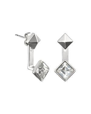 Karl Lagerfeld Paris Small Pyramid Ear Jackets