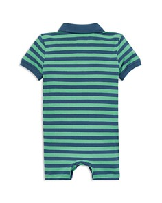 Ralph Lauren - Boys' Featherweight Mesh Striped Shortall - Baby