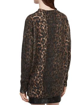 ALLSAINTS - Leopard Print Sweater
