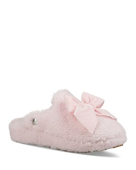 UGG® - Women's Addison Velvet Bow Slippers