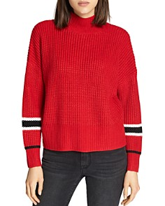 Sanctuary - Speedway Stripe Sleeve Sweater