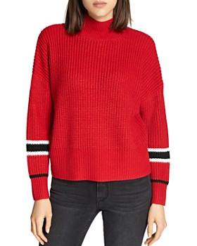 Sanctuary - Speedway Stripe Sleeve Sweater
