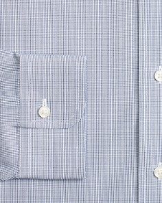 Brooks Brothers - Micro Windowpane Classic Fit Dress Shirt
