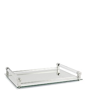 William Yeoward Crystal - Coco Large Mirrored Bar Tray