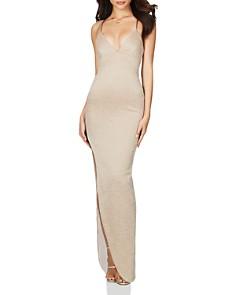 Nookie - Aura Metallic Column Gown