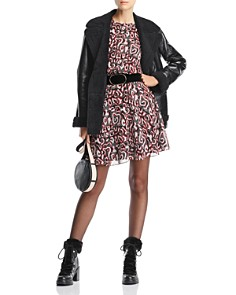 Rebecca Minkoff - Tasha Printed A-Line Dress