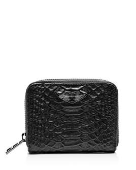 Zadig & Voltaire - ZV Savange Mini Embossed Leather Bag