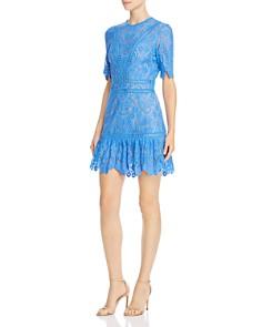 Saylor - Scalloped Lace Dress