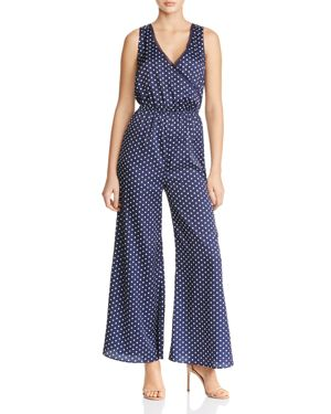 Finders Keepers Whisper Polka Dot Wide-Leg Jumpsuit