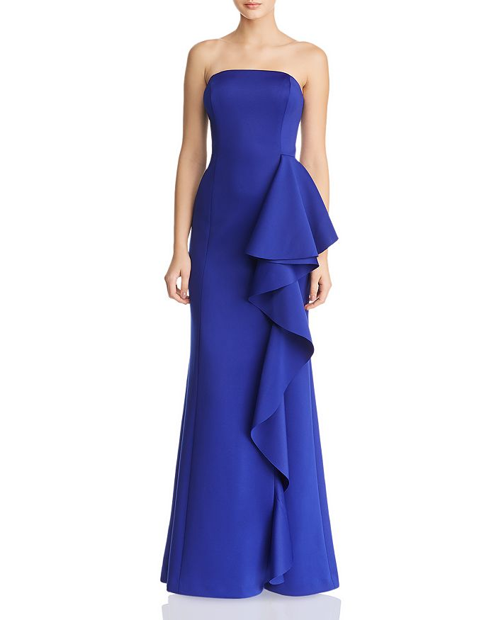 Eliza J - Strapless Ruffled Dress