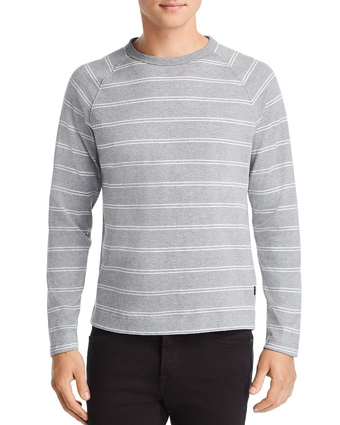 BOSS Hugo Boss - Terell Long-Sleeve Striped Tee