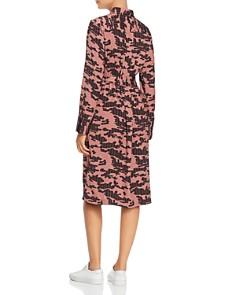 Kenneth Cole - City Camo Stripe Shirt Dress