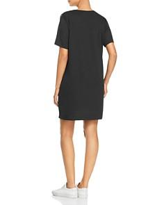 Kenneth Cole -  LBD Logo Tee Dress