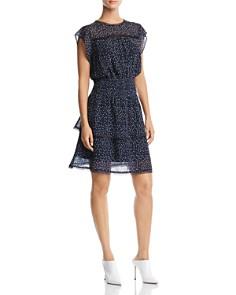 AQUA - Tiered Polka Dot Dress - 100% Exclusive