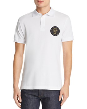 2ccf949b Versace Jeans - Logo Patch Piqué Polo Shirt