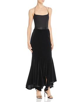 Divine Heritage - Velvet Maxi Skirt