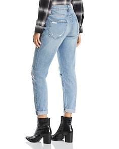 Pistola - Mason Distressed High-Rise Girlfriend Jeans in Like That