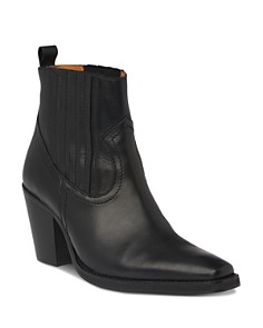 Whistles - Women's Allington Western Leather Boots