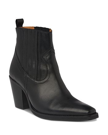 Whistles - Women's Allington Western Leather Booties