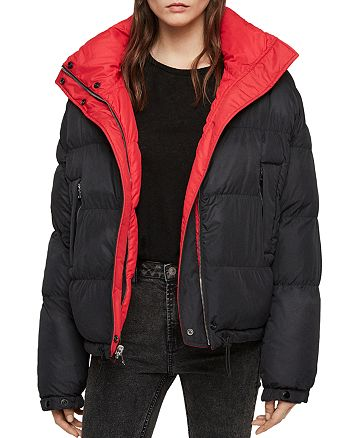 8664f2a81 ALLSAINTS Nala Reversible Puffer Jacket | Bloomingdale's
