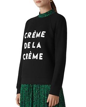 Whistles - Crème De La Crème Sweatshirt