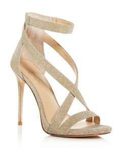6aa4ce28e50 AQUA Women s Mardi Glitter Leather High-Heel Platform Sandals - 100 ...