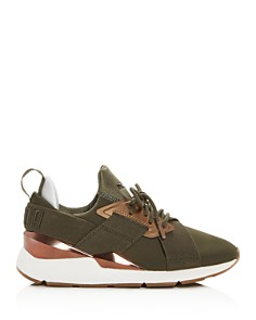 PUMA - Women's Muse Low-Top Sneakers